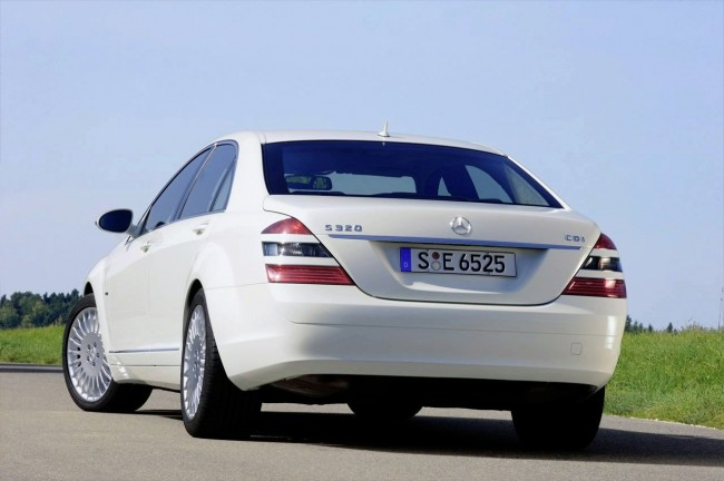 Фото Mercedes S250 BlueEFFICIENCY