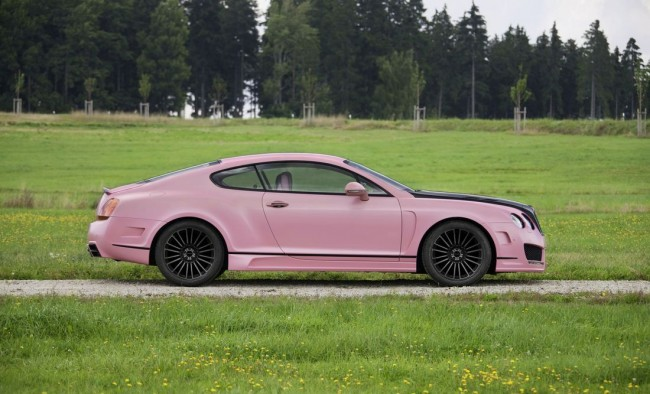 Фото Mansory Bentley Continental GT