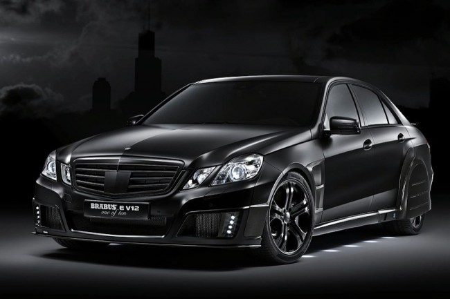 The Black Baron на базе нового E-Class от Brabus