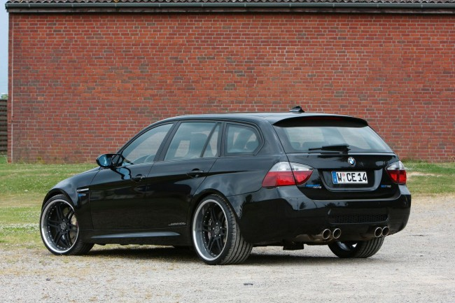 Тюнинг BMW M3 Estate от Manhart Racing