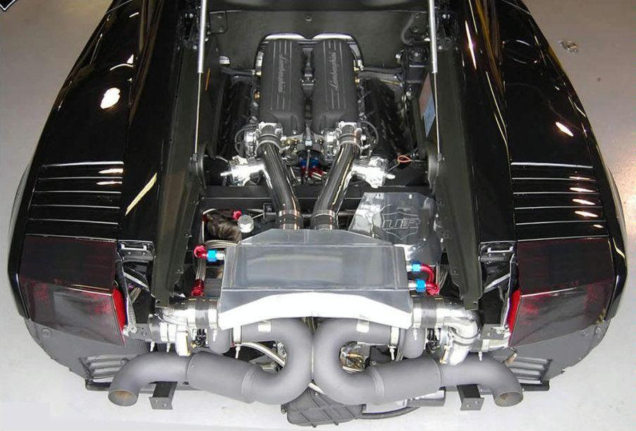 двигатель ламборджини галлардо