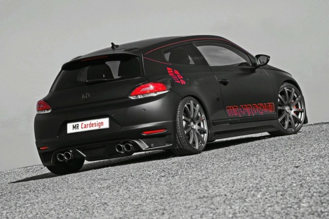 Тюнинг Volkswagen Scirocco от ателье MR Car Design