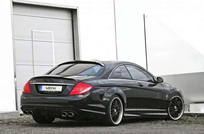 Тюнинг Mercedes CL 65 AMG от ателье VATH Performance