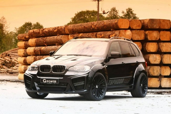 G-Power Typhoon Black Pearl на базе BMW X5
