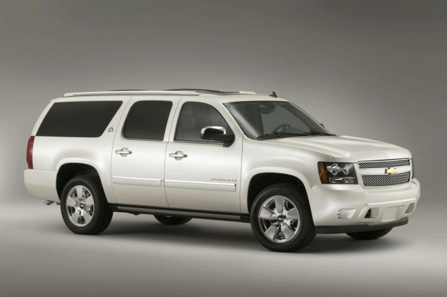 Chevrolet Suburban Diamond Edition фото