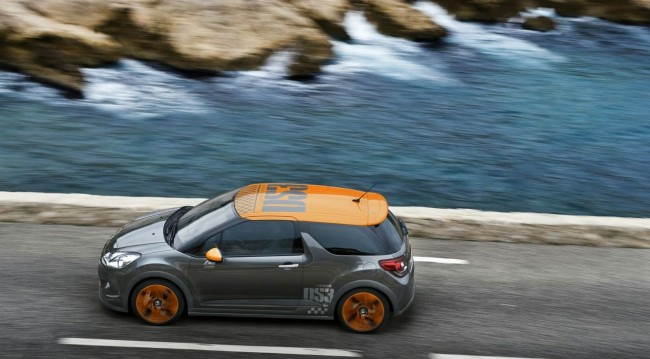 Спортивнй хэтчбек Citroen DS3 Racing