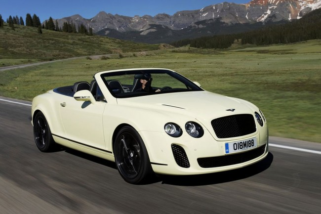 Фото Continental Supersports Convertible