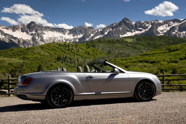 Bentley Continental Supersports кабриолет