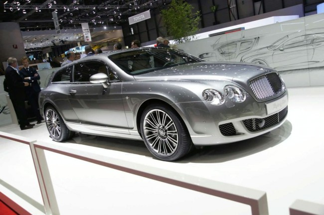 Bentley Superleggera Flying Star фото