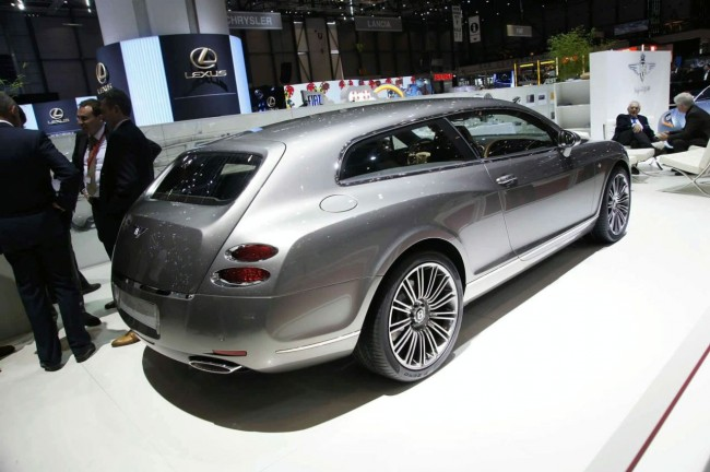 В Женеве представили Bentley Flying Star