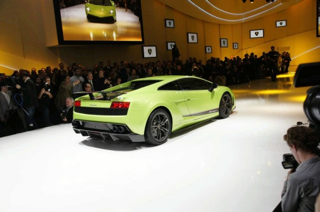 Мировая премьера Gallardo LP 570-4 Superleggera