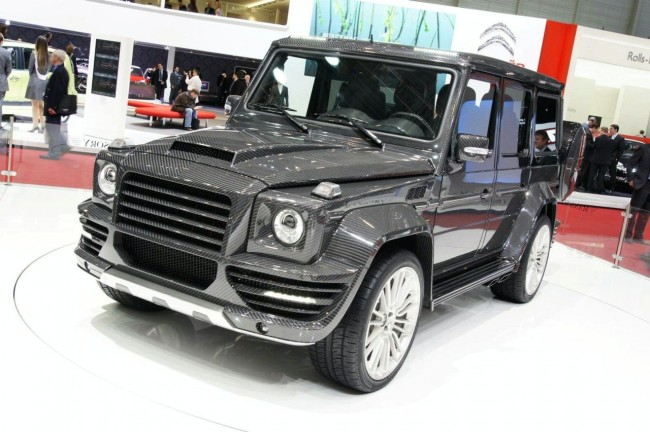 Mansory G Couture на базе Mercedes G 55 AMG