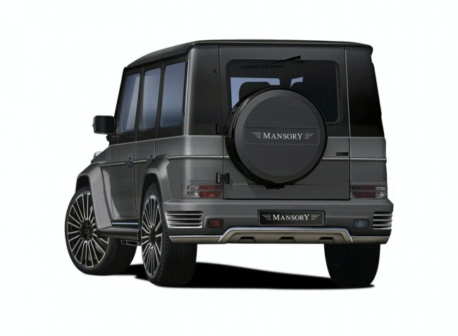 Фото тюнинг Mansory G55 Couture
