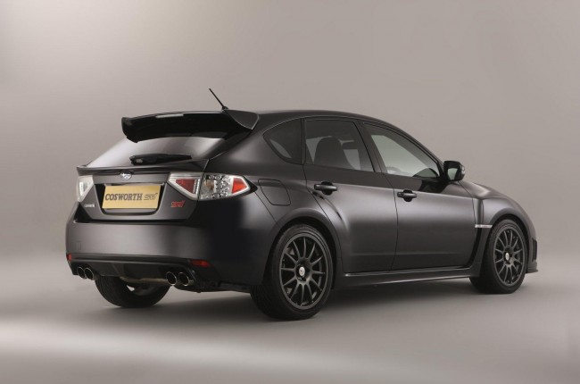 Subaru Cosworth Impreza STi CS400 мощностью 400 л.с.
