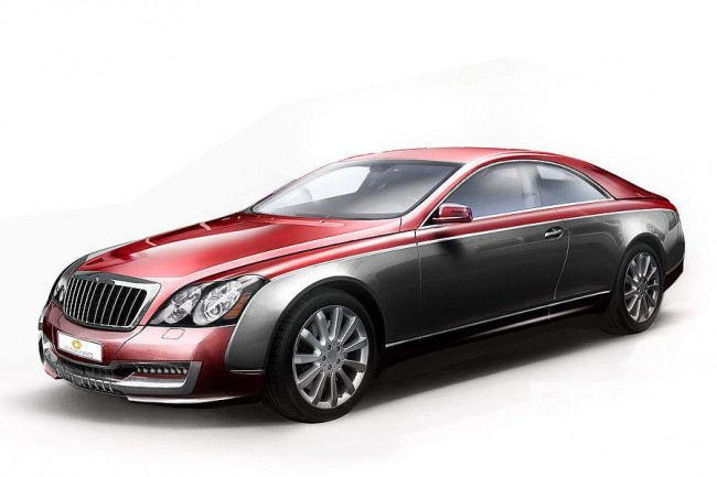 Иллюстрация Maybach 57S Coupe