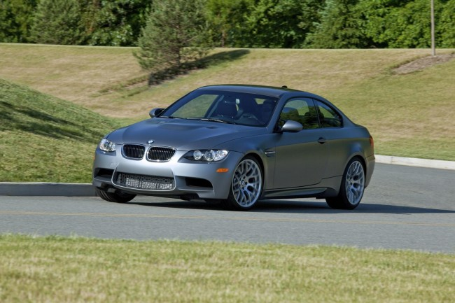Фото BMW M3 Frozen Gray Coupe