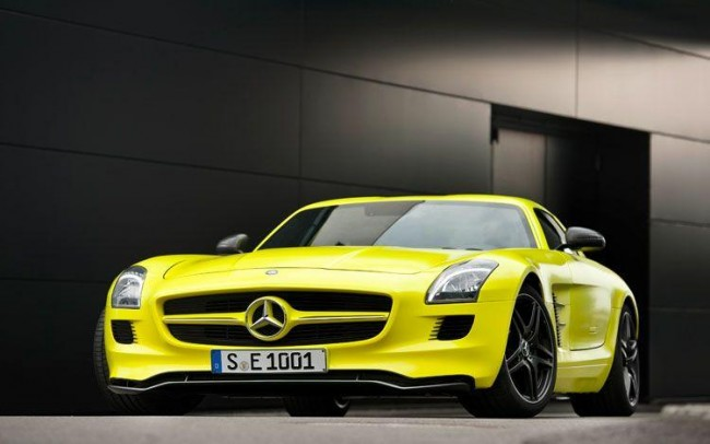 Mercedes-Benz SLS AMG E-Cell - фото