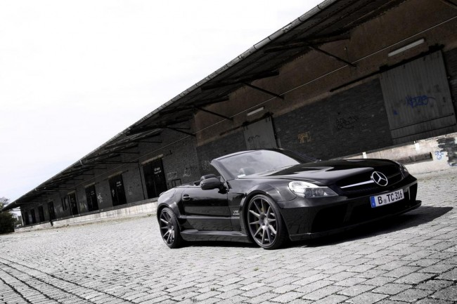 Mercedes SL65 AMG Black Series wallpapers HQ