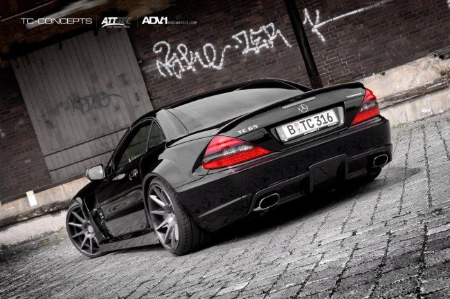 В тюнинговом ателье TC-Concepts создали кабриолет Mercedes SL65 AMG Black Series