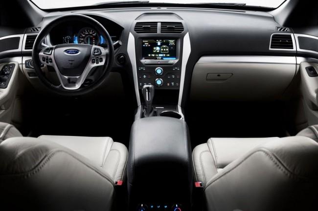 Комплектации и цены Ford Explorer 2013.