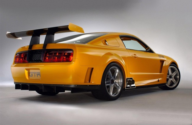 Фото Ford Mustang GT-R Concept muscle car