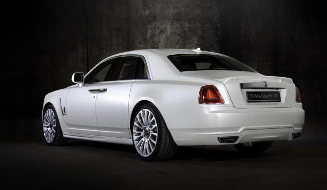 Rolls-Royce White Ghost от ателье Mansory