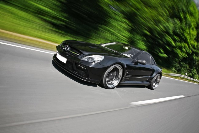 Wallpapers Mercedes SL 63 AMG Inden Design HQ