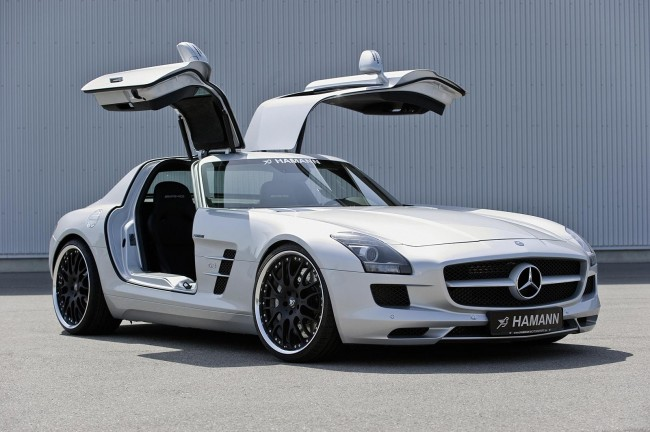 Wallpapers Hamann Mercedes SLS AMG HQ