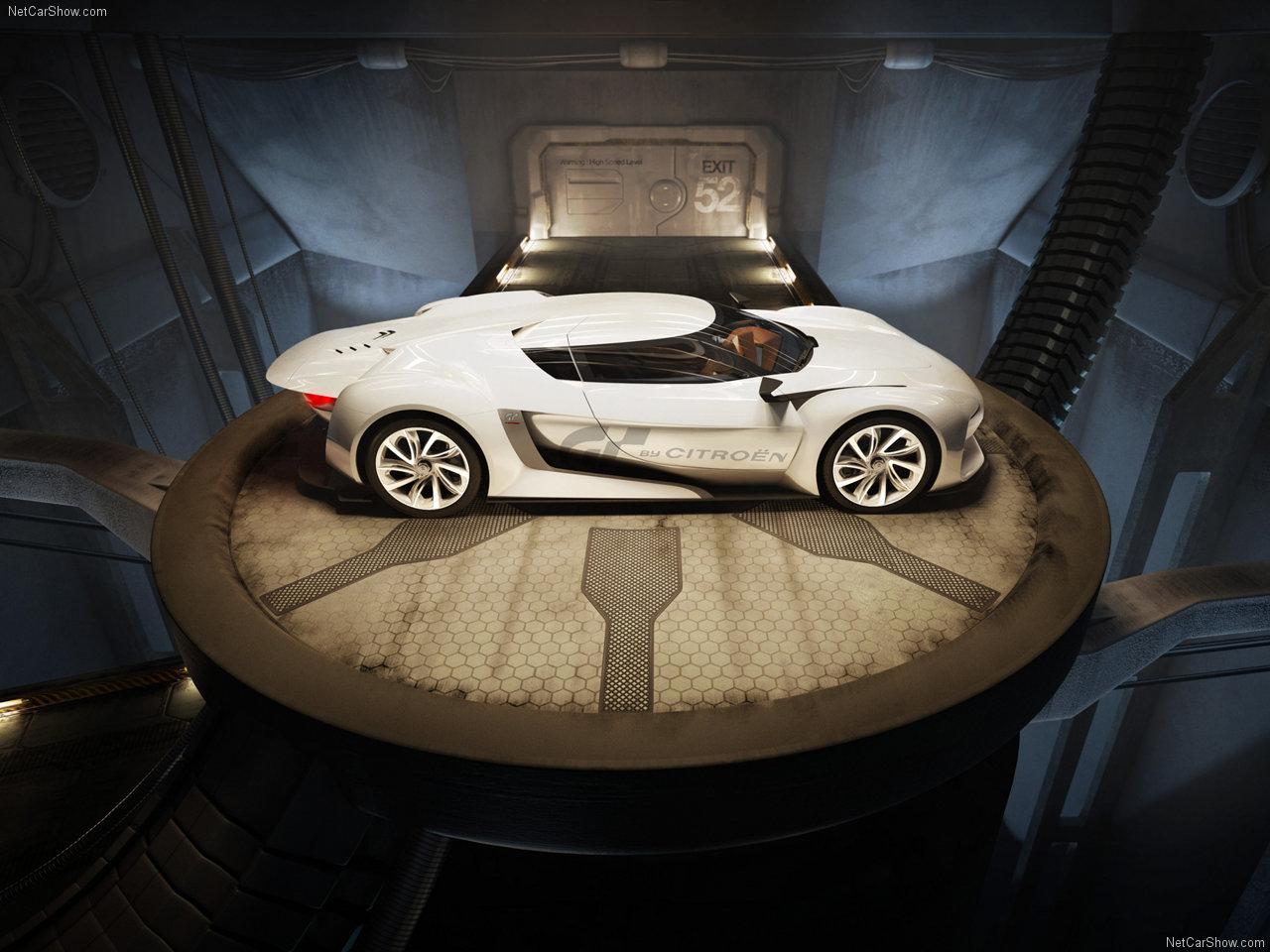 Citroen gt concept покажут на ммас 2010