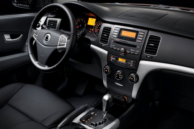 SsangYong New Actyon фото салона