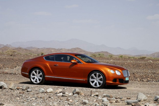 Bentley Continental GT 2016 фото