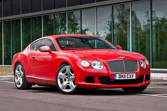 bentley continental gt v8 2 поколения