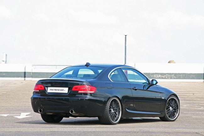 Фото тюнинг купе BMW 335i Black Scorpion