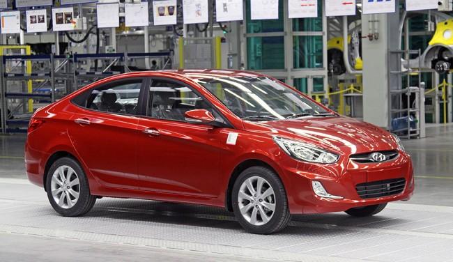 Hyundai Solaris седан