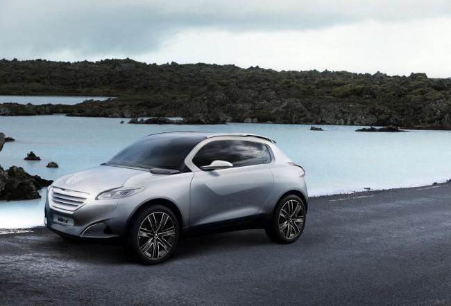 Peugeot HR1 сможет бросить вызов Nissan Juke