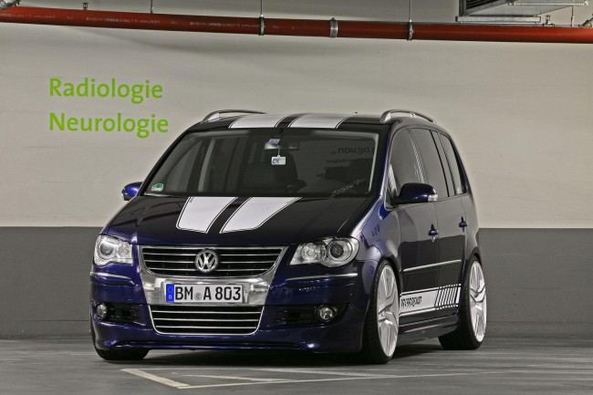 VW Touran от ателье MR Car Design