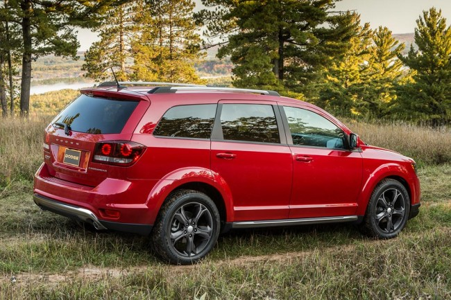 Вседорожный Dodge Journey Crossroad