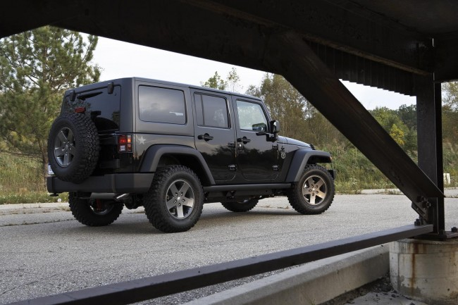 Jeep подготовил Wrangler Call of Duty: Black Ops Edition