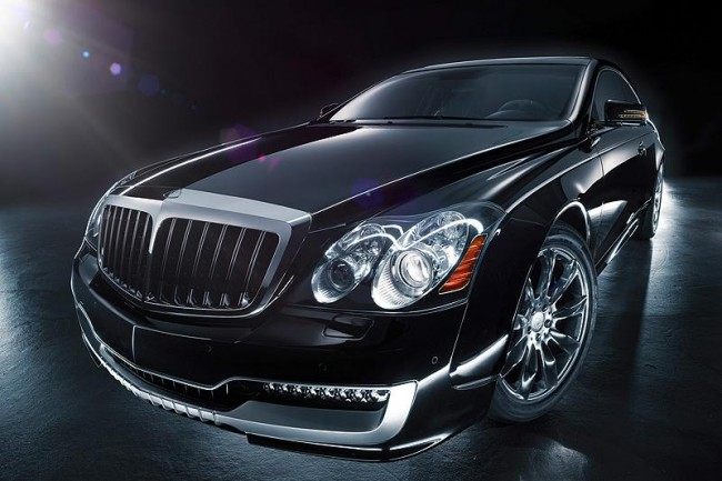 Двухдвреный Maybach 57S Coupe от Xenatec