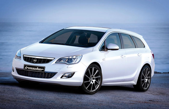 Тюнинг универсала Opel Astra Sports Tourer