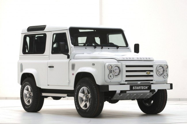 Фото Land Rover Defender 90 Yachting Edition