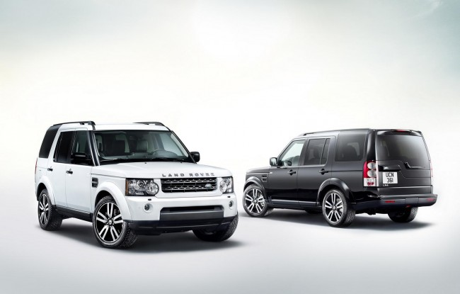 Land Rover Discovery 4 Landmark special edition