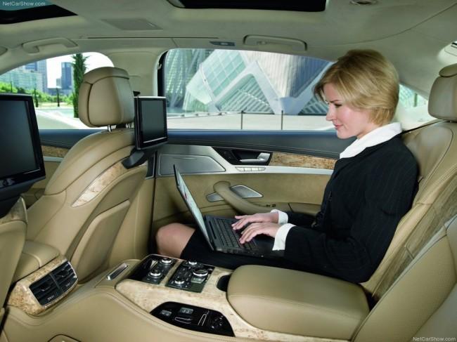 Audi показал новое поколение  А8 ( Фото ) Дни.