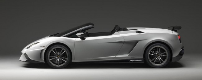 Суперкар Gallardo LP 570-4 Spyder Performante