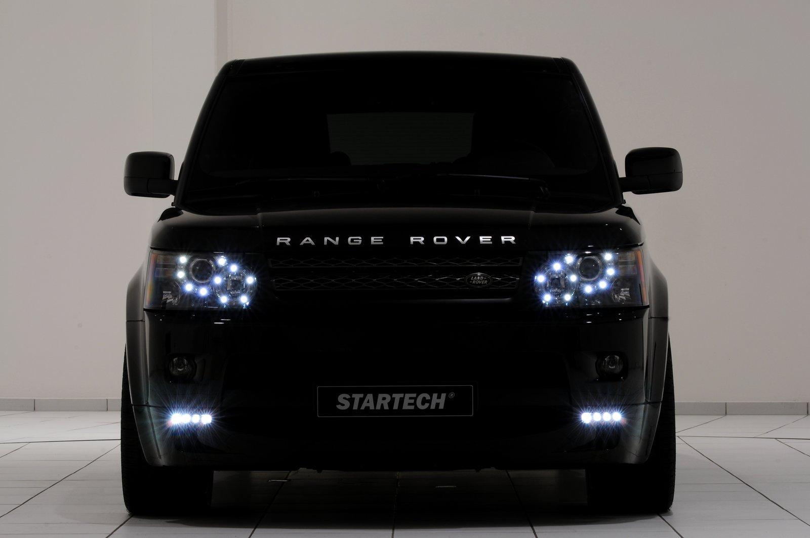 Светодиодная оптика для range rover sport