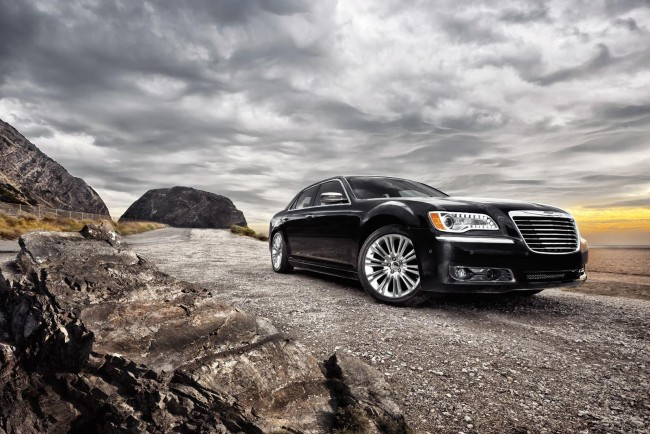 Фото нового Chrysler 300C