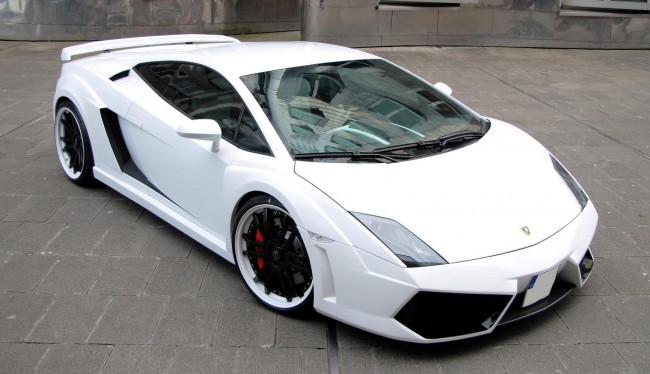 Lamborghini Gallardo White Edition
