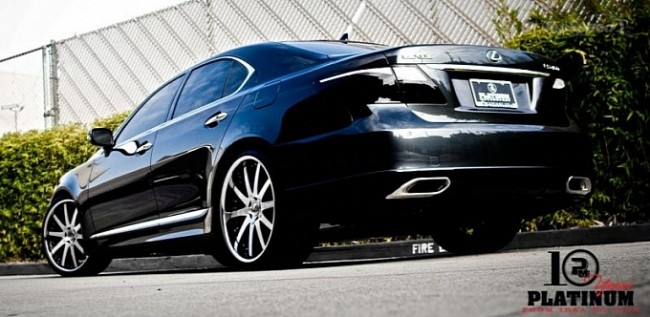 Тюнинговый Lexus LS 460 Sport от Platinum Motorsport
