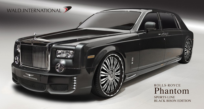 Wald International готовит обвес для Rolls-Royce Phantom