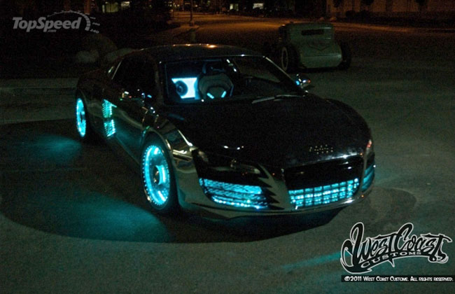 West Coast Customs создали Audi R8 Tron